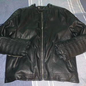 Zara boys motorcycle jacket